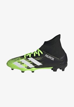 PREDATOR FOOTBALL BOOTS FIRM GROUND UNISEX - Botas de fútbol con tacos - siggnr/ftwwht/cblack