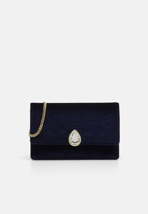 EMELDAH TEARDROP EVENING BAG - Clutch - navy