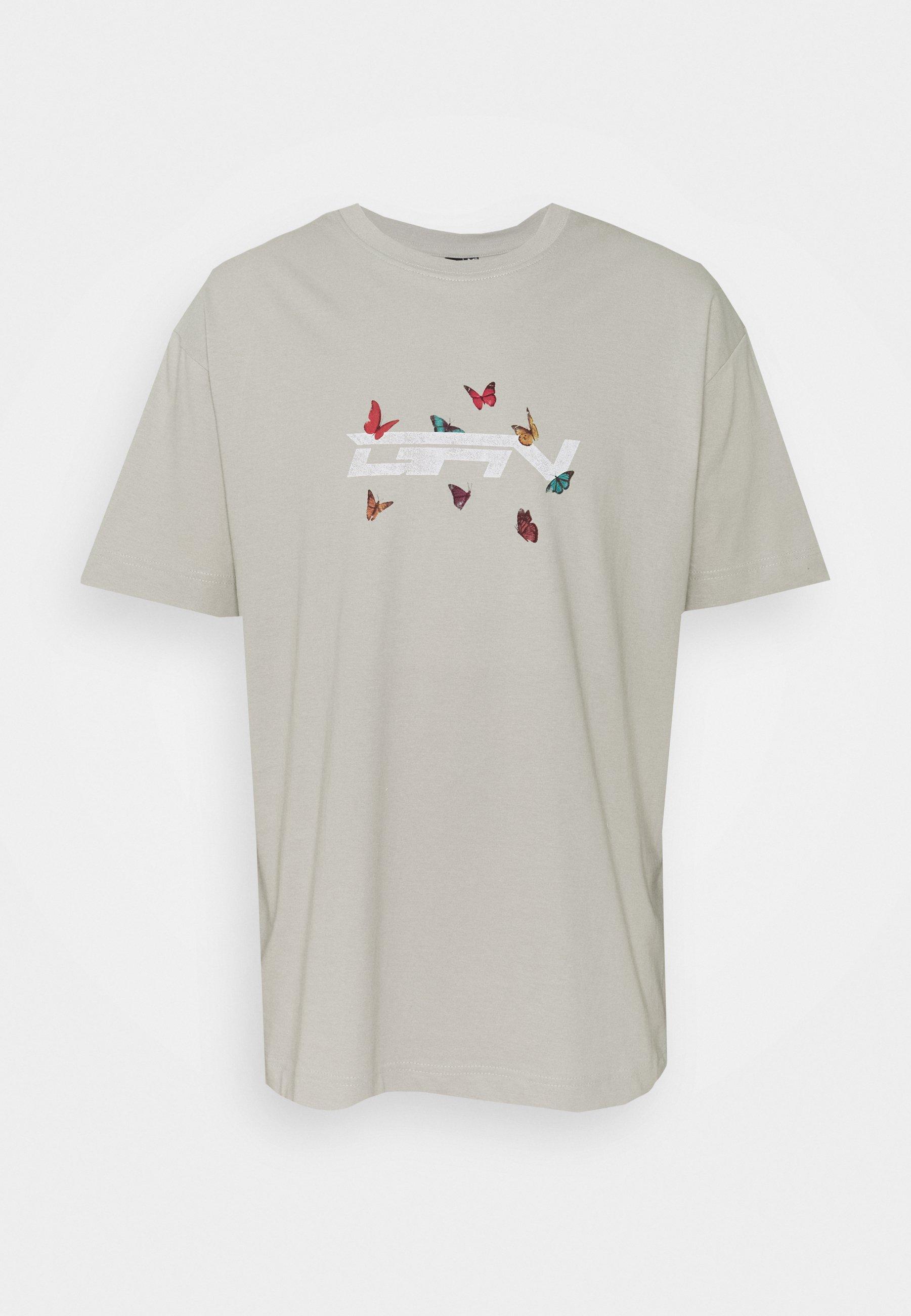 Women OVERSIZED BUTTERFLY  - Print T-shirt
