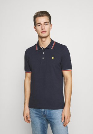 SEASONAL TIPPED  - Polo - dark navy/burnt orange