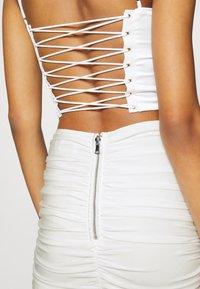 Tiger Mist - ZION SKIRT - Mini skirt - white - 5