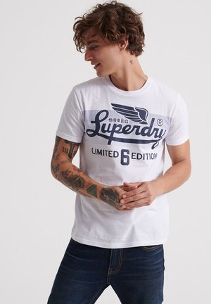 ICARUS BLEND LITE TEE - Print T-shirt - white