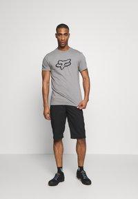 Fox Racing - LEGACY HEAD TEE - Print T-shirt - grey - 1