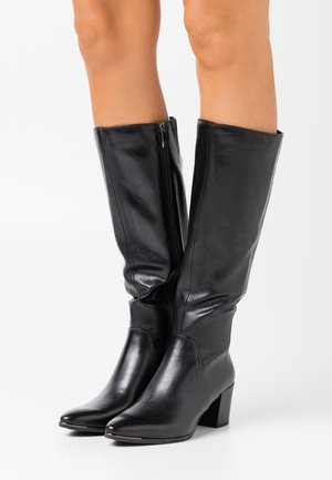 Botas - black antic