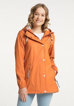 Vodotěsná bunda - orange