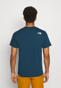 The North Face - NEVER STOP EXPLORING TEE - Print T-shirt - monterey blue - 2