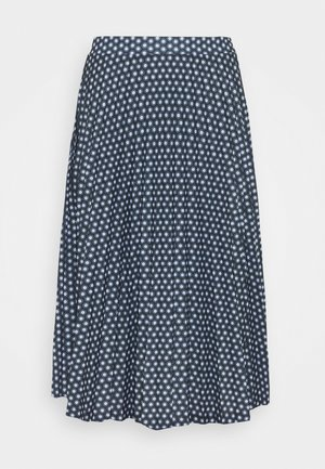 A-line skirt - dark blue