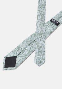 Burton Menswear London - TIE HANKIE AND PIN SET - Tie - grey - 3