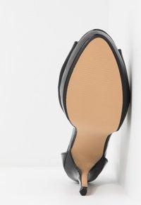 Dorothy Perkins - SORBET PLATFORM - Korolliset sandaalit - black - 6