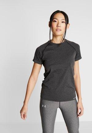 CI SEAMLESS - Print T-shirt - dark grey melange
