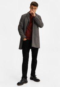 WE Fashion - MANTEL - Classic coat - blended dark grey - 1