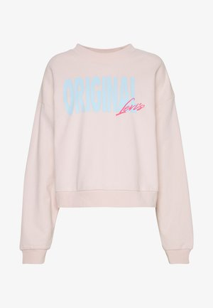 GRAPHIC DIANA CREW - Mikina - crew original peach blush