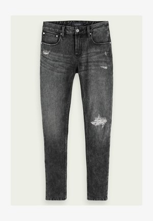 SKIM - CARVE IT OUT - Slim fit jeans - grey