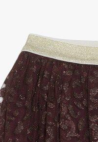 The New - ANNA FANNA SKIRT - Mini skirt - winetasting - 3