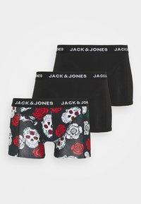 Jack & Jones - JACSKULL LEFT TRUNKS 3 PACK - Slip - black - 3