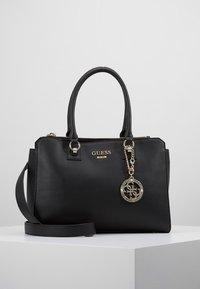 Guess - ALMA SOCIETY SATCHEL - Handbag - black - 0