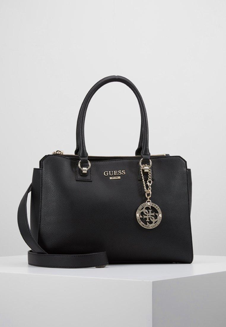 Guess - ALMA SOCIETY SATCHEL - Handbag - black