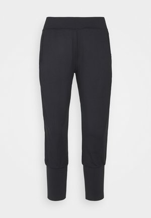 GARY YOGA CAPRIS - Tracksuit bottoms - black
