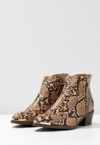 Anna Field Select - LEATHER ANKLE BOOTS - Tronchetti - brown - 4