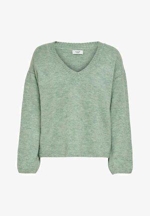 Jumper - granite green