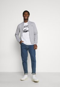 Lacoste - Cardigan - silver chine - 1