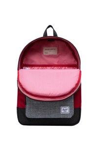 Herschel - School bag - red/raven crosshatch/black crosshatch - 3