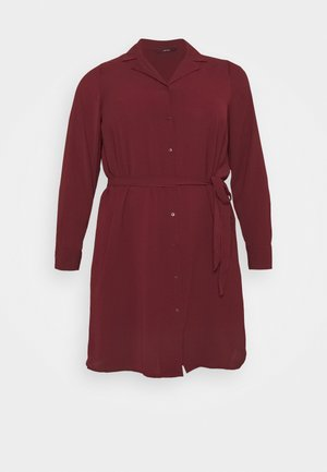 VMSAGA DRESS  - Robe chemise - cabernet