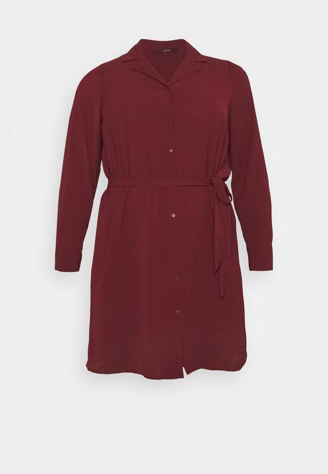VMSAGA DRESS  - Košilové šaty - cabernet