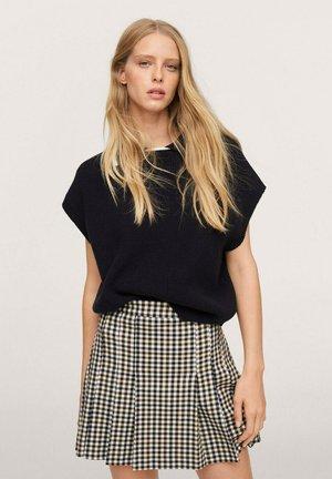 Pleated skirt - écru