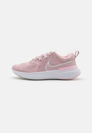 REACT MILER 2 - Neutral running shoes - plum chalk/white/pink foam