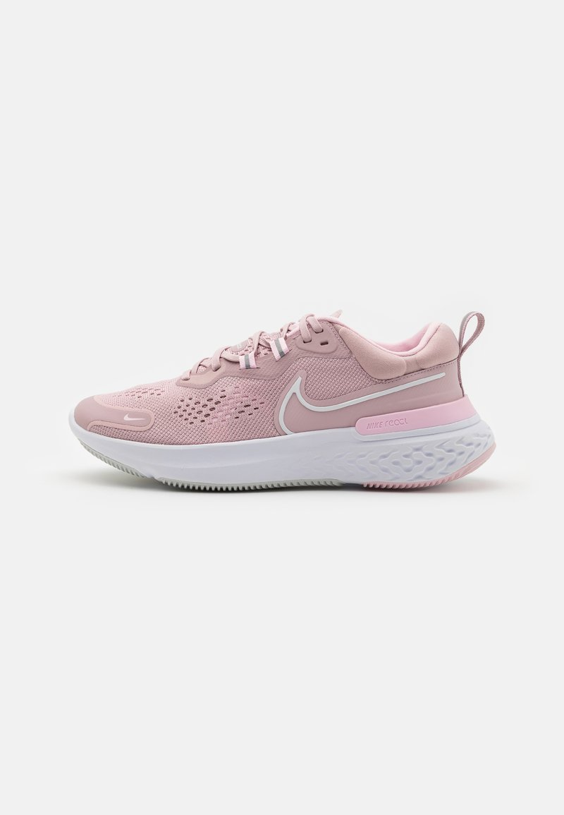 Nike Performance - REACT MILER 2 - Nøytrale løpesko - plum chalk/white/pink foam