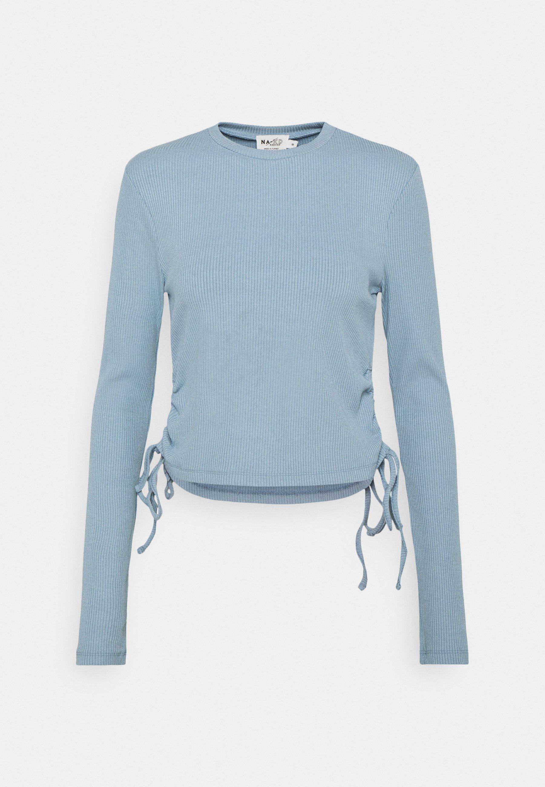 Women DRAWSTRING DETAIL - Long sleeved top