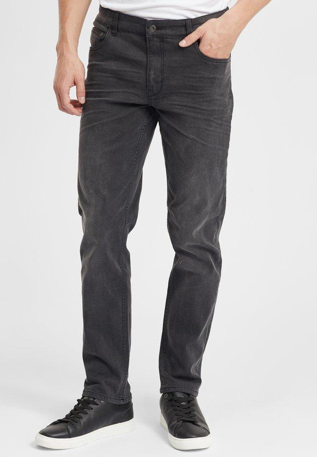 FYNN - Straight leg jeans - grey denim