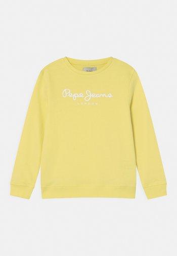 ADAM - Sweatshirt - acid yellow