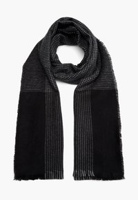 s.Oliver - Scarf - black check - 5