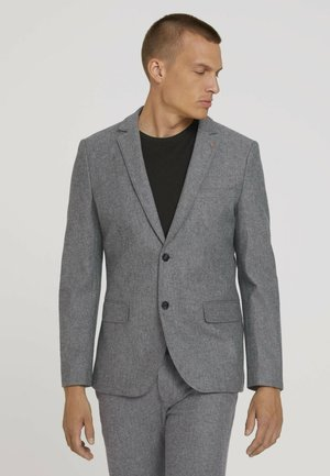 Suit jacket - blue herringbone