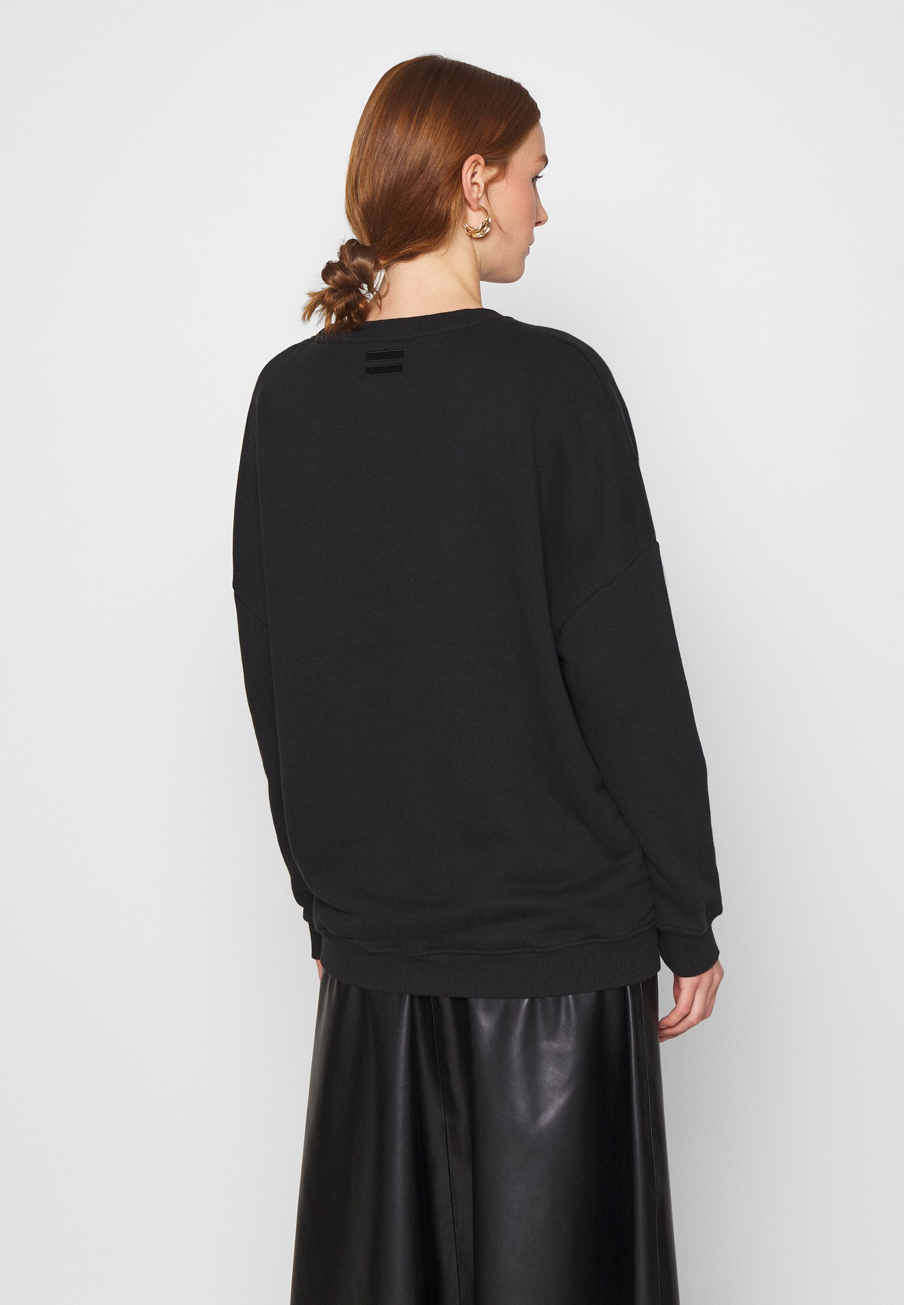 For Sale Women's Clothing 10DAYS PRINT Sweatshirt black 2HfcEWre1