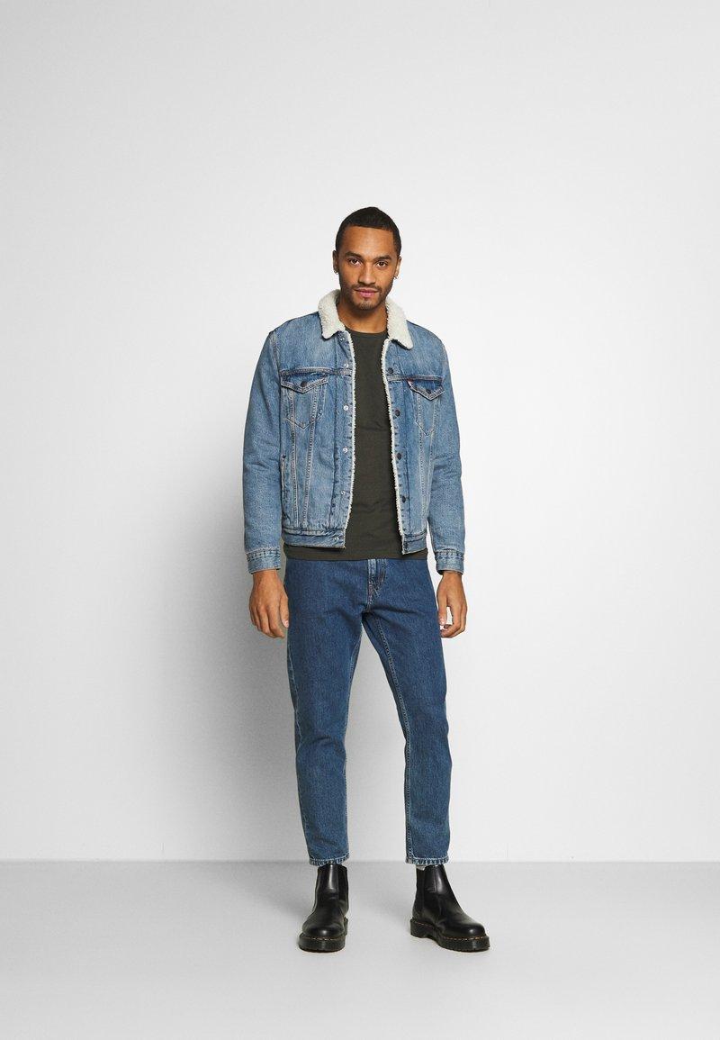 Burton Menswear London - LONG SLEEVE CREW 2 PACK  - Maglietta a manica lunga - charcoal