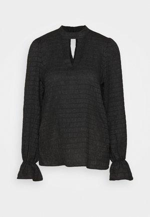 VMSHELBY HIGH NECK - Long sleeved top - black