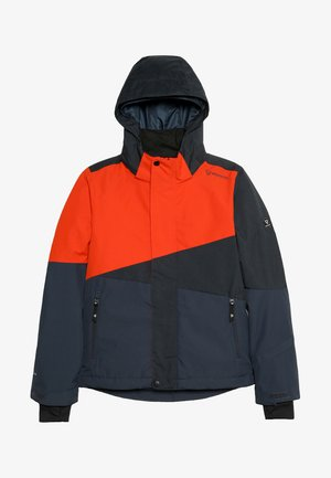 IDAHO BOYS SNOWJACKET - Snowboard jacket - red/dark blue