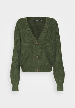 VMLEA  - Cardigan - black forest