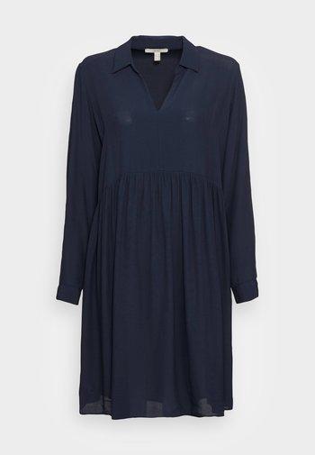 MOROCCAIN DRESS - Day dress - navy
