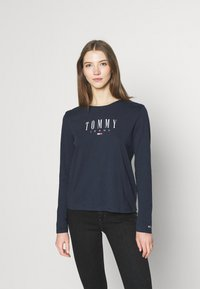 Tommy Jeans - LALA TEE - Topper langermet - twilight navy - 0