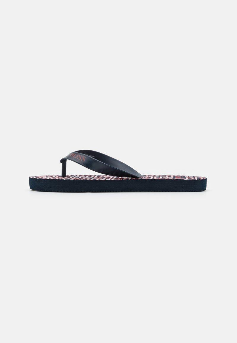 BOSS Kidswear - T-bar sandals - navy