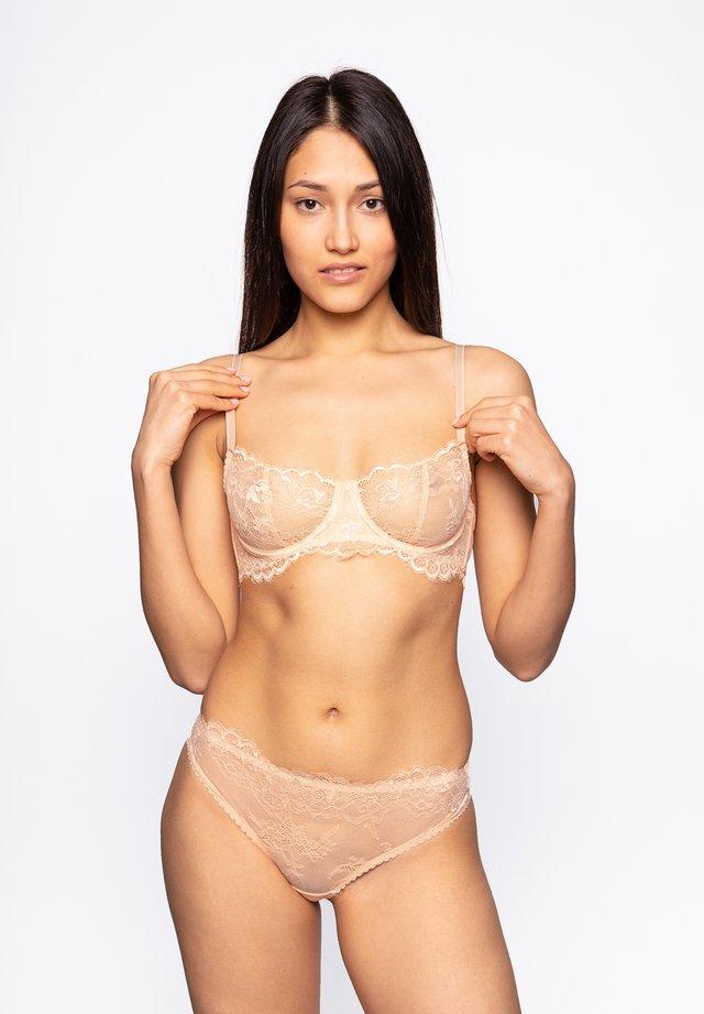Balconette-bh'er - beige/nude
