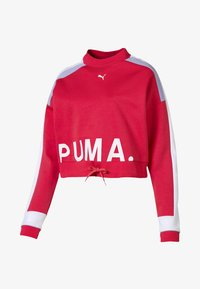 Puma - CHASE CREW - Long sleeved top - hibiscus - 0