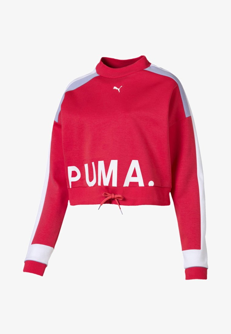 Puma - CHASE CREW - Long sleeved top - hibiscus