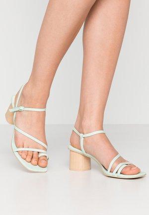 ZYDA - T-bar sandals - mint