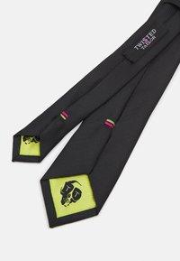 Twisted Tailor - SULLY TIE - Cravatta - black - 1