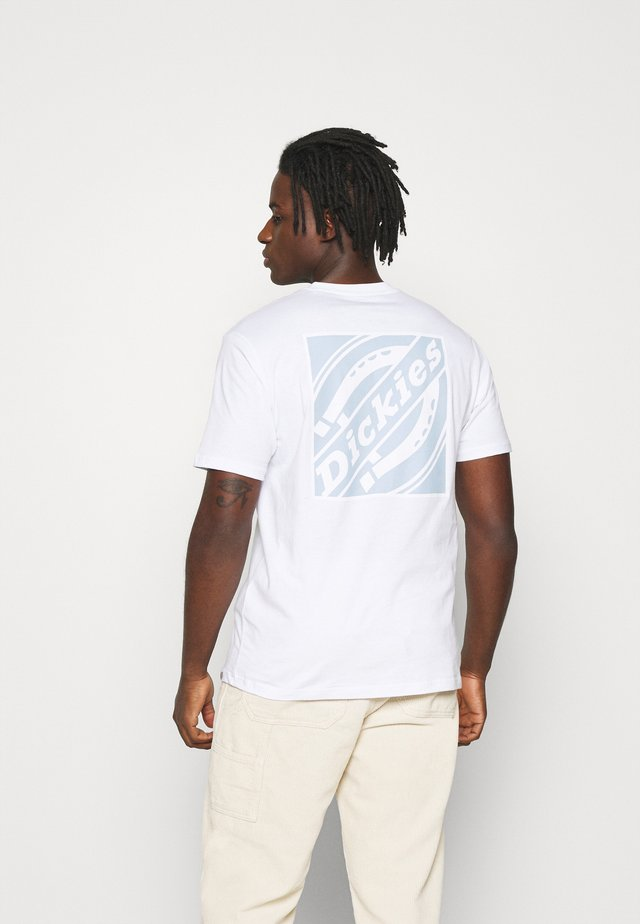 BOX - Print T-shirt - white